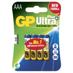 Blister 4 Batterie AAA Mini...